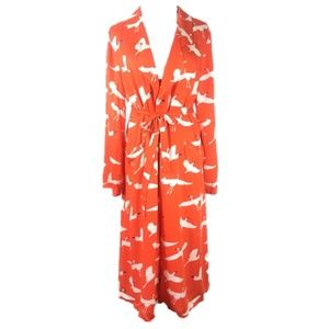 SomeDays Lovin' Great Heights Duster Bird Print